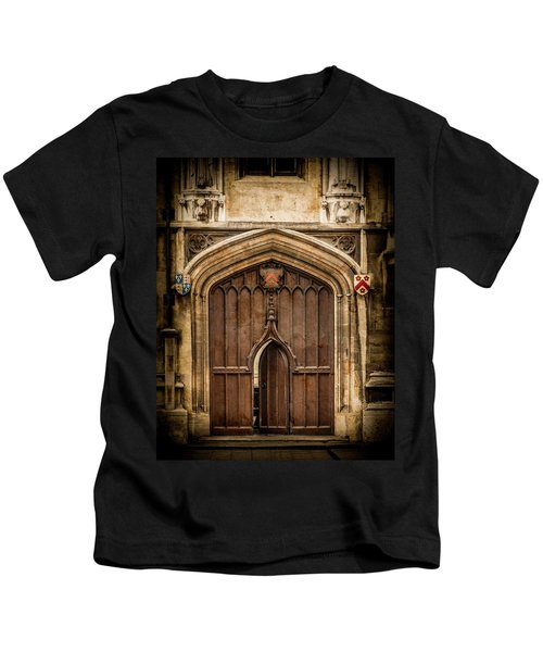 Oxford, England - All Souls Gate Kids T-Shirt