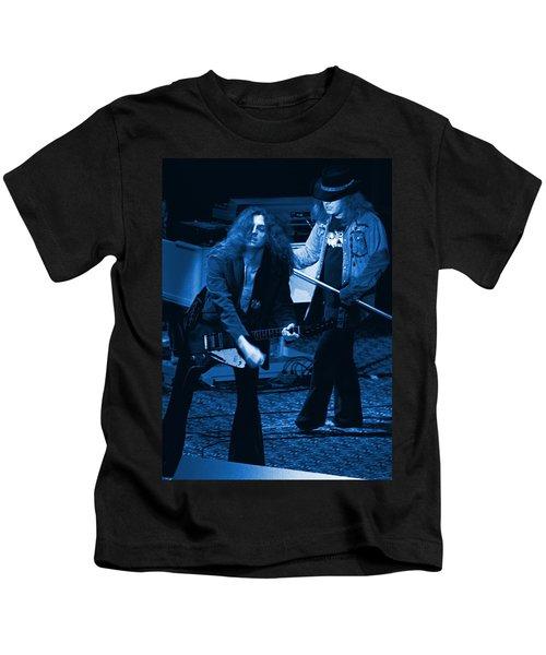 Allen Collins And Ronnie Van Zant Same Old Winterland Blues Kids T-Shirt