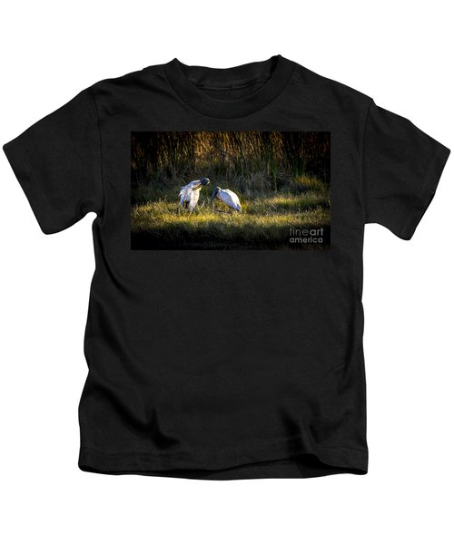 Almost Bed Time Kids T-Shirt by Marvin Spates