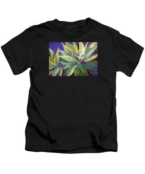 Aloe Plants In Big Sur Kids T-Shirt