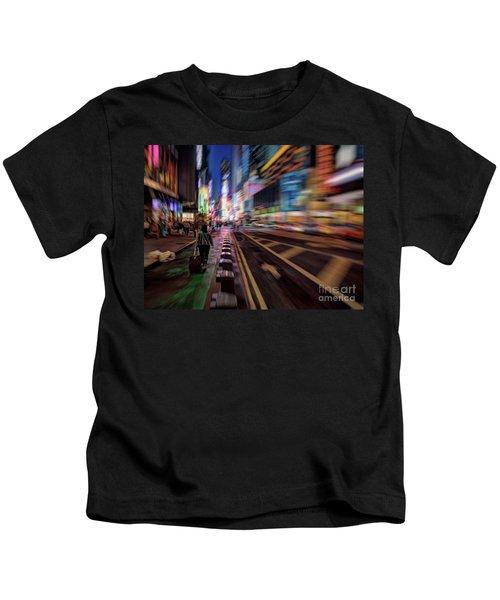 Alone In New York City 2 Kids T-Shirt