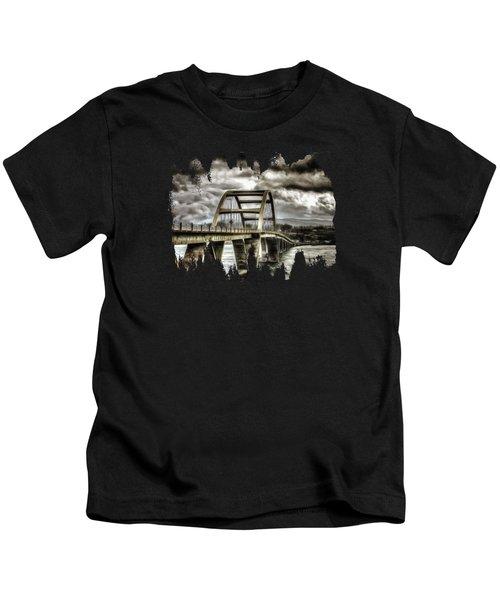 Alsea Bay Bridge Kids T-Shirt