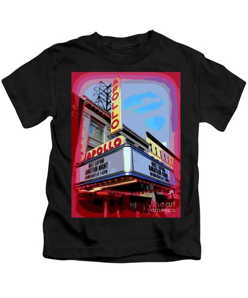 Amateur Night At The Apollo Kids T-Shirt by Ed Weidman