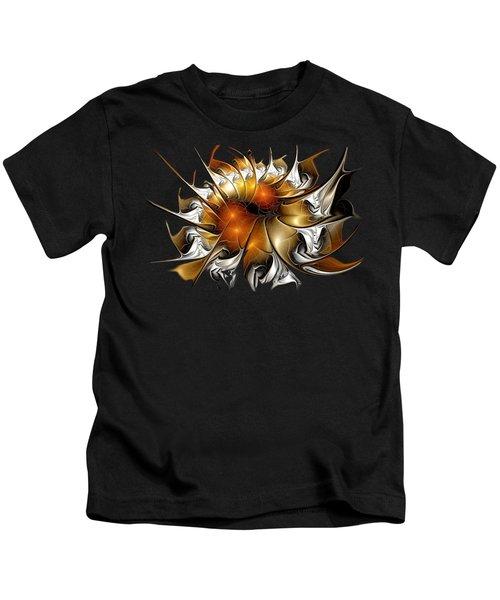 Amber Vortex Kids T-Shirt