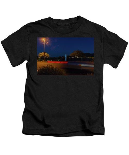 America At Night Kids T-Shirt