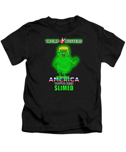 America, You've Been Slimed Kids T-Shirt