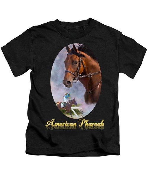 American Pharoah Framed Kids T-Shirt