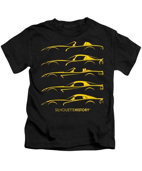 American Snakes Silhouettehistory Kids T-Shirt