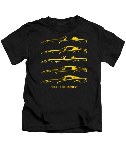 American Snakes Silhouettehistory Kids T-Shirt