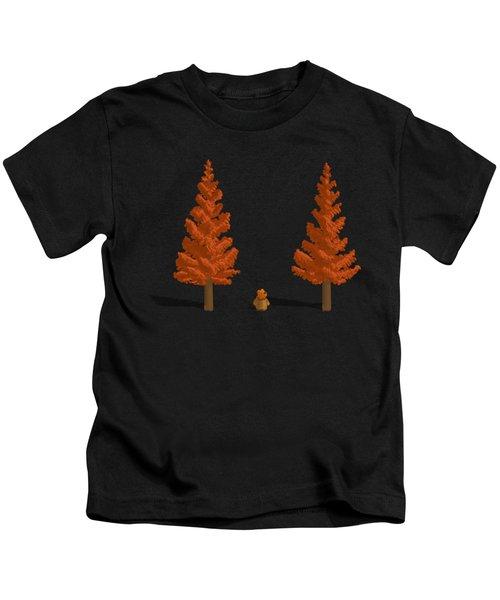 Among The Giants Kids T-Shirt