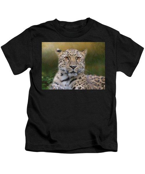 Amur Leopard Kids T-Shirt