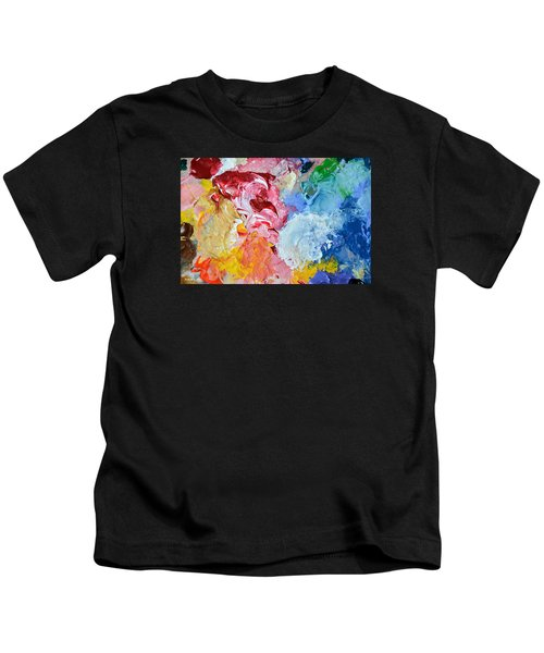 An Artful Blend Kids T-Shirt