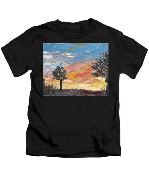 An Ohio Sunset Kids T-Shirt