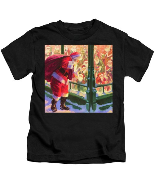 An Unforeseen Encounter Kids T-Shirt