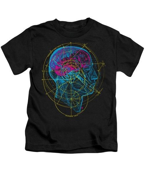 Anatomy Brain Kids T-Shirt