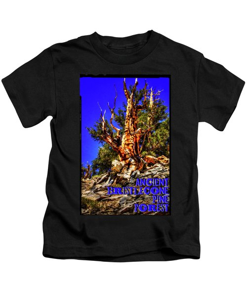 Ancient Bristlecone Pine Forest Kids T-Shirt