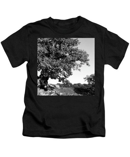 Ancient Oak, Bradgate Park Kids T-Shirt