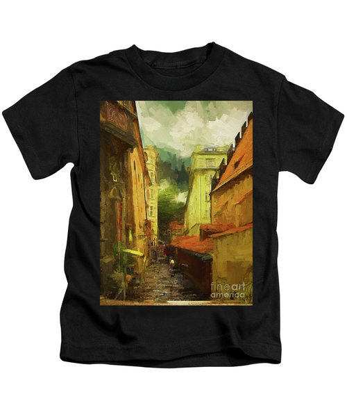 And Then It Rained Kids T-Shirt