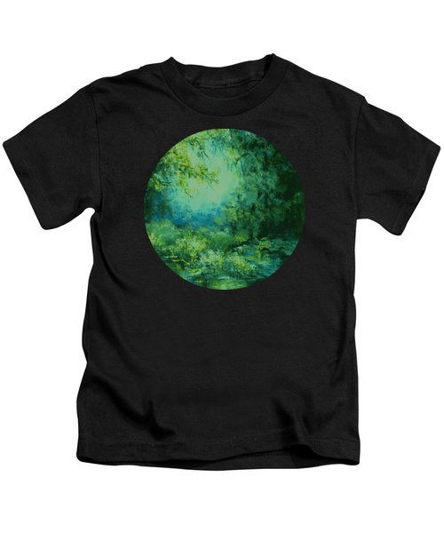 And Time Stood Still Kids T-Shirt