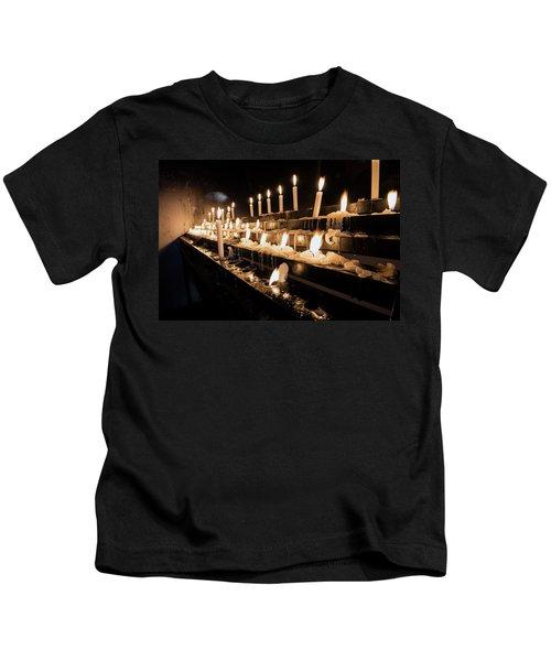Andechs Prayer Candles Kids T-Shirt