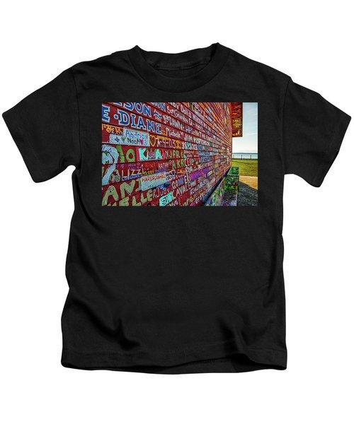 Anderson Warehouse Graffiti  Kids T-Shirt