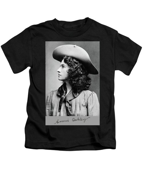 Annie Oakley Profile Kids T-Shirt
