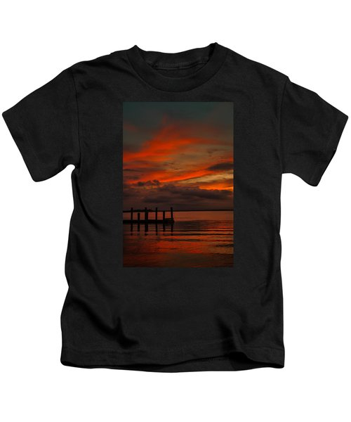 Another Day Is Done Kids T-Shirt