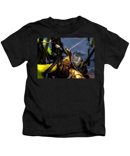 Ant Meets Turtle Kids T-Shirt