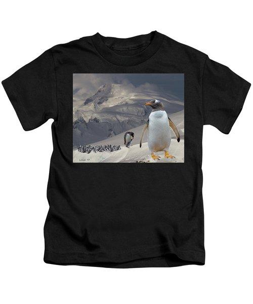 Antarctic Magesty Kids T-Shirt