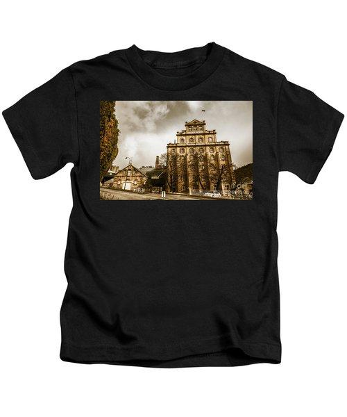 Antique Australia Architecture Kids T-Shirt