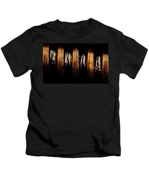 Antique Vise Worm Gear Kids T-Shirt