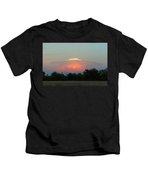 Anvil Cloud Over Kirksville, Mo Kids T-Shirt