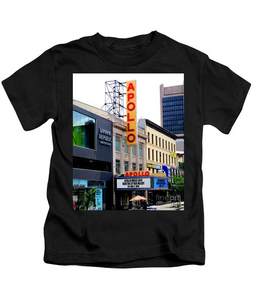 Apollo Theater Kids T-Shirt by Randall Weidner