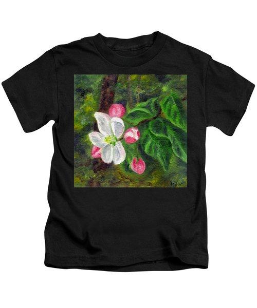 Apple Blossoms Kids T-Shirt
