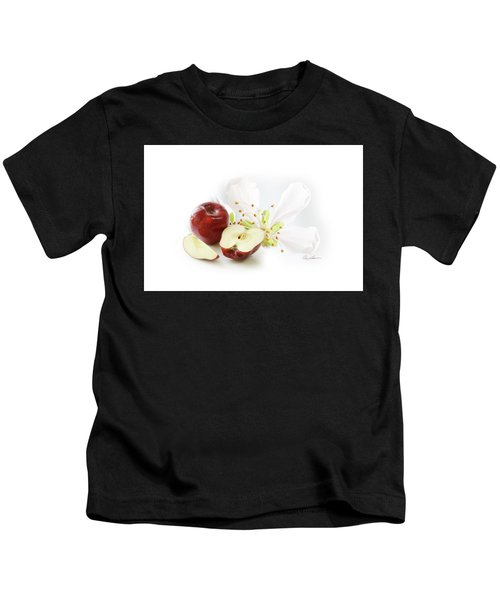 Apples And Blossom Kids T-Shirt
