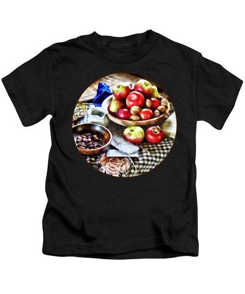 Apples And Nuts Kids T-Shirt