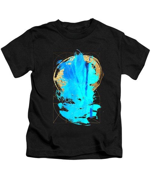 Aqua Gold No. 4 Kids T-Shirt