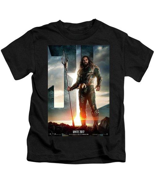 Aquaman - Justice League Kids T-Shirt