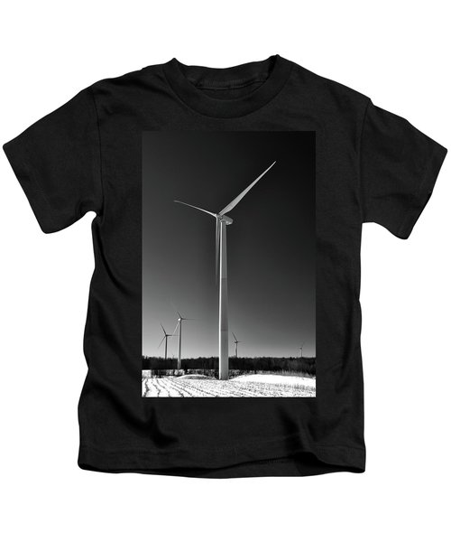 Arcade Wind Turbines 6557 Kids T-Shirt