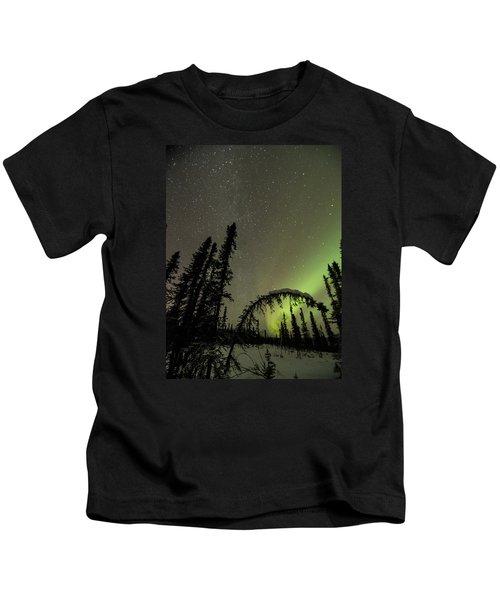 Arched Spruce Aurora Kids T-Shirt