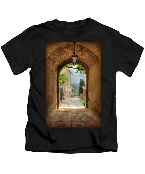Arched View Kids T-Shirt