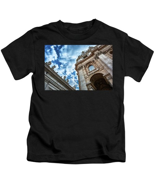 Architectural Majesty On Top Of The Sky Kids T-Shirt