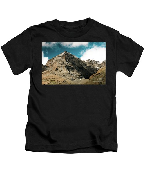 Around Holy Kailas Himalayas Tibet Yantra.lv Kids T-Shirt