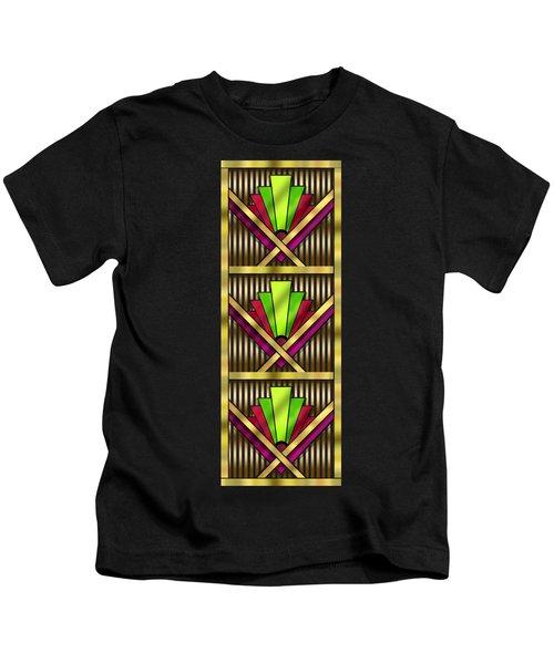 Art Deco 13 Tiles Kids T-Shirt