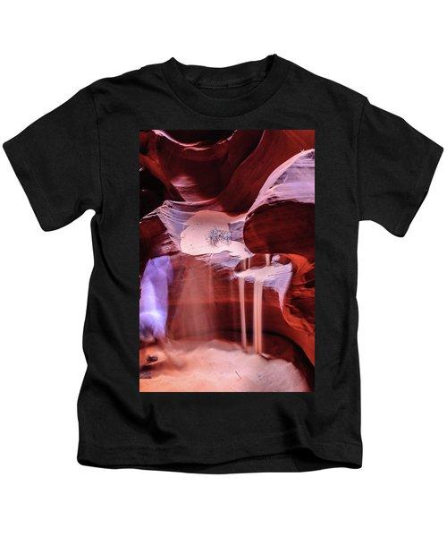 Art From Antelope Canyon Kids T-Shirt