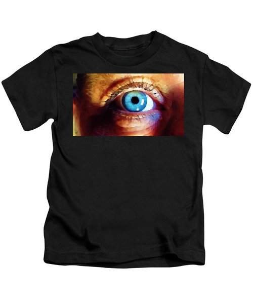Artist Eye View Kids T-Shirt