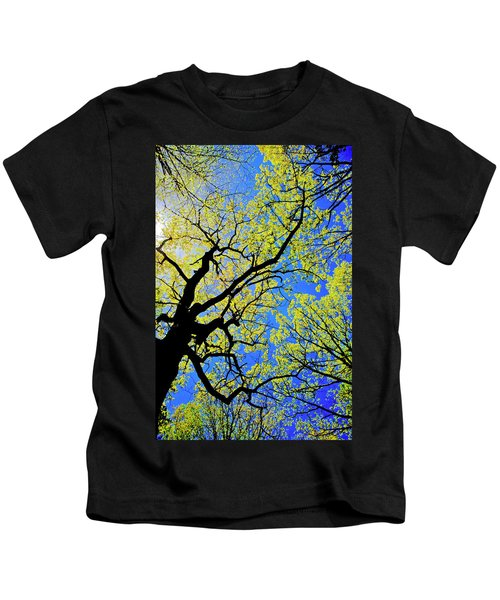 Artsy Tree Canopy Series, Early Spring - # 02 Kids T-Shirt