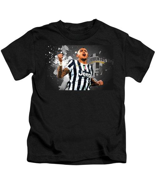 Arturo Vidal Kids T-Shirt by Semih Yurdabak