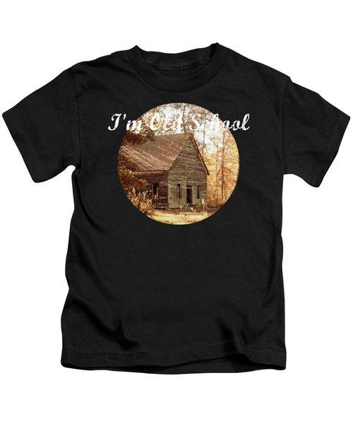 Old Church - Vintage Kids T-Shirt