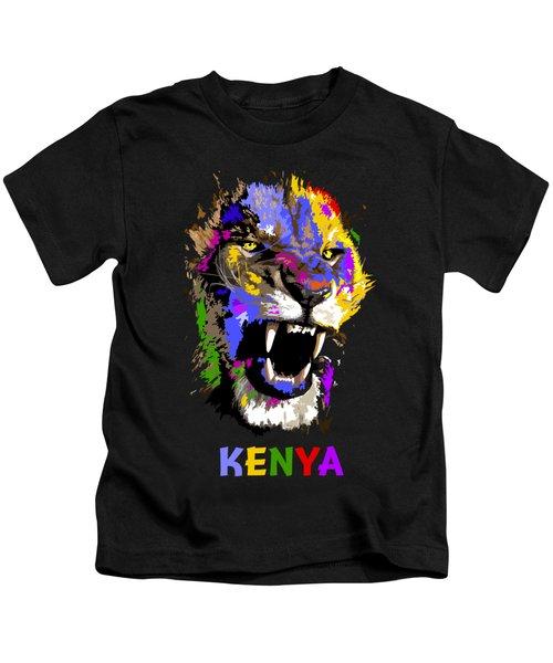 Cat Snarl Kids T-Shirt